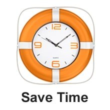 Clock in Life Ring - Save time with cleaning products from EasyEcoClean