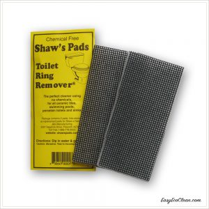 Shaws Pads package label with 2 pads