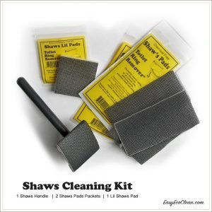 Picture of Shaws Cleaning Kit - 1 Handle, 2 packages of Pads, 1 Lil Pad