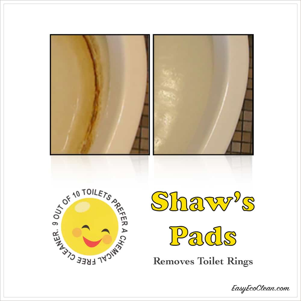Shaws Handle - green cleaning product that removes hard water deposits