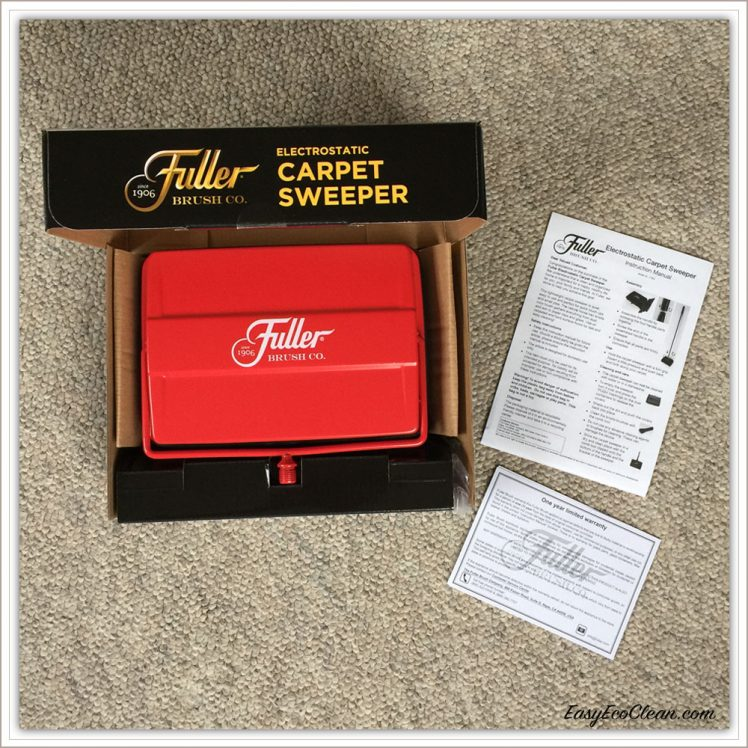Fuller Electrostatic Sweeper With Instructions